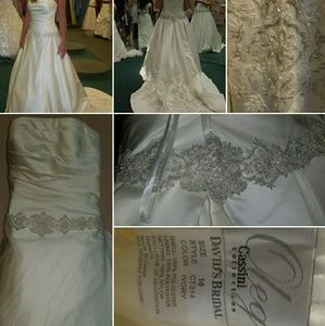 Oleg Cassini Wedding Gown CT314